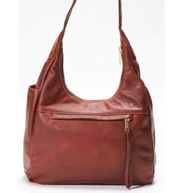 Pack and Etc (Purse) Coronado Monterey Hobo, Mahogany