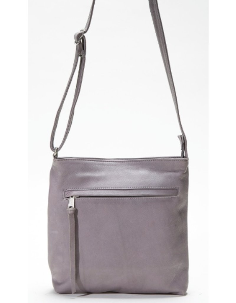 Pack and Etc (Purse) Coronado Monterey Crossbody, Grey