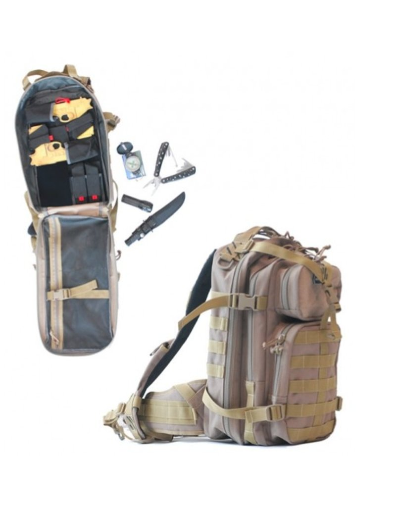 Pack and Etc (Firearm) GPS Loaded Bug Out Backpack