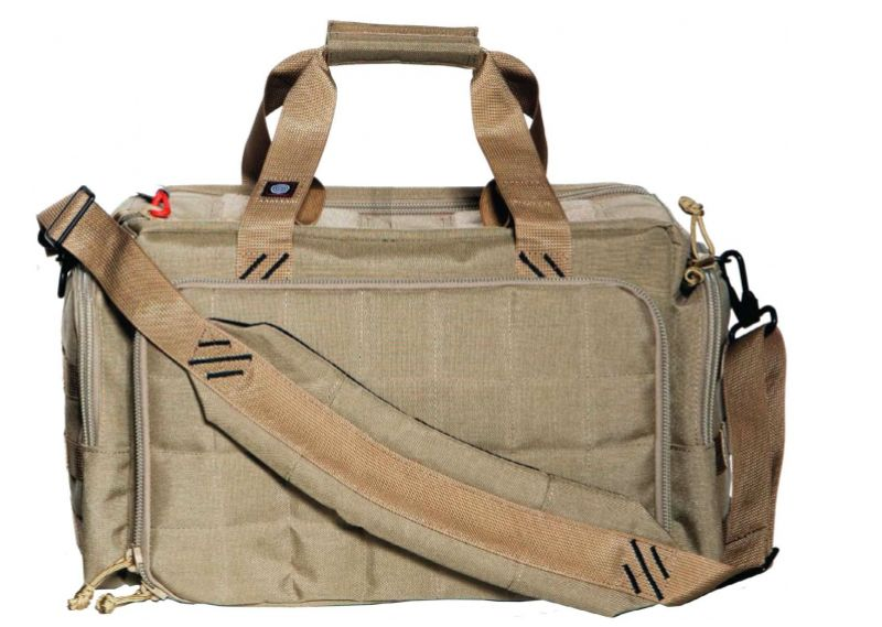 Pack and Etc (Firearm) GPS Large Range Bag, Tan