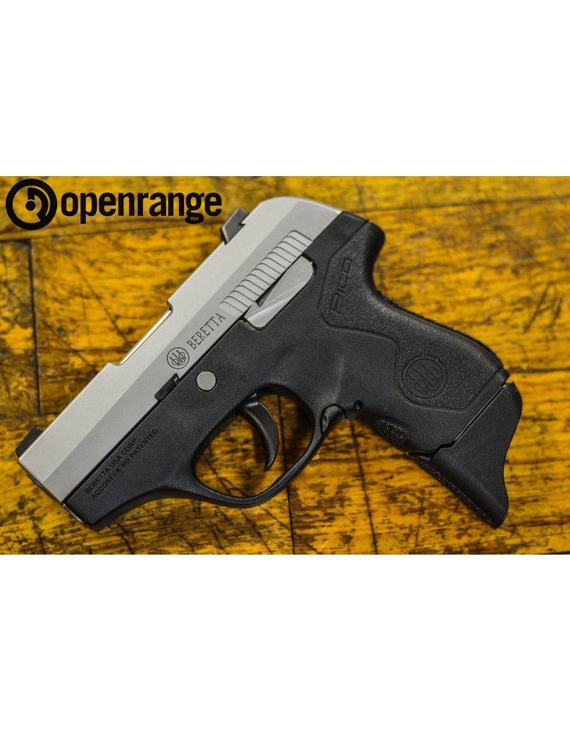 Handgun Used Used Beretta Pico Inox, w/Lasermax, .380acp, Black, 6 rd.