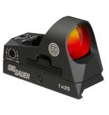 Optics SIG Romeo 3, Mini Reflex with Riser, 3MOA, Red dot, graphite finish