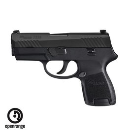 "Handgun New Sig Sauer P320SC, Sub Compact, 40 S&W, 3.6"" Barrel, 10 rd, Siglite night sights"