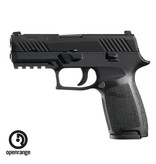 "Handgun New Sig Sauer P320 Carry, 9mm, 3.9"", Night Sights"