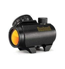 Optics Bushnell TRS-25 1x Red Dot, 3 MOA, with riser mount