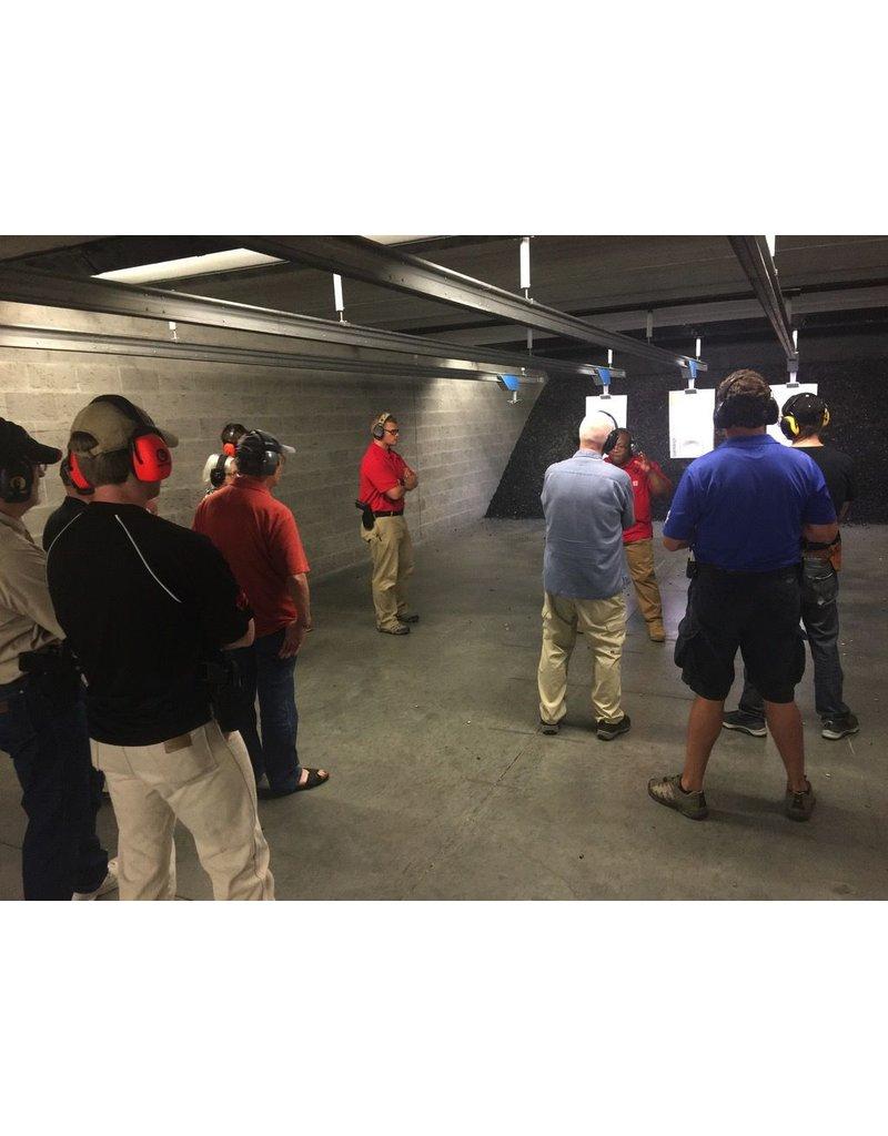 Advanced Intermediate Pistol Class - 6/13/17 Tues - 3:30 to 8:30