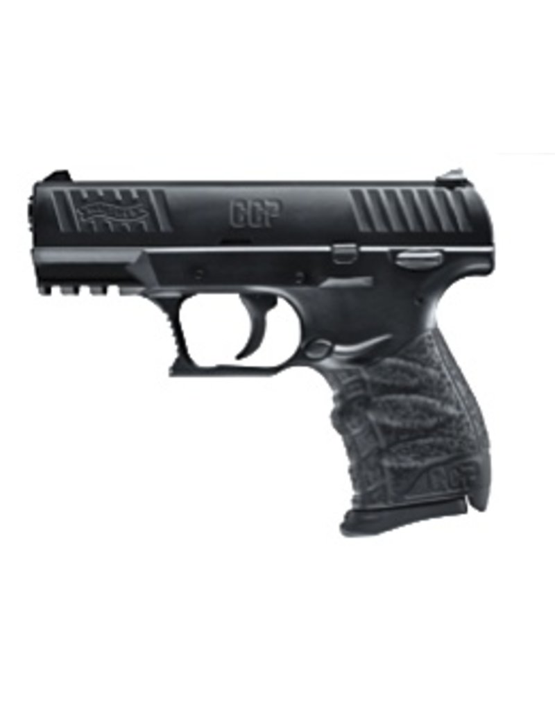 "Handgun New Walther CCP, 9mm, 3.54"", Black, 8rds"