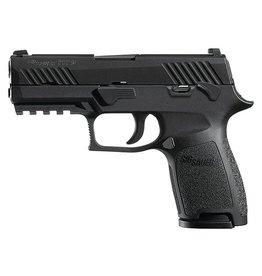 "Handgun New Sig Sauer P320 Compact, 9mm, 3.9"", Night Sights, Manual Safety, 15rd"