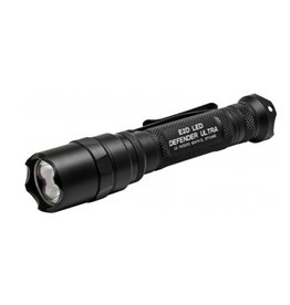 Flashlight Surefire E2D Defender Ultra, 600/5 lumens, Black anodized