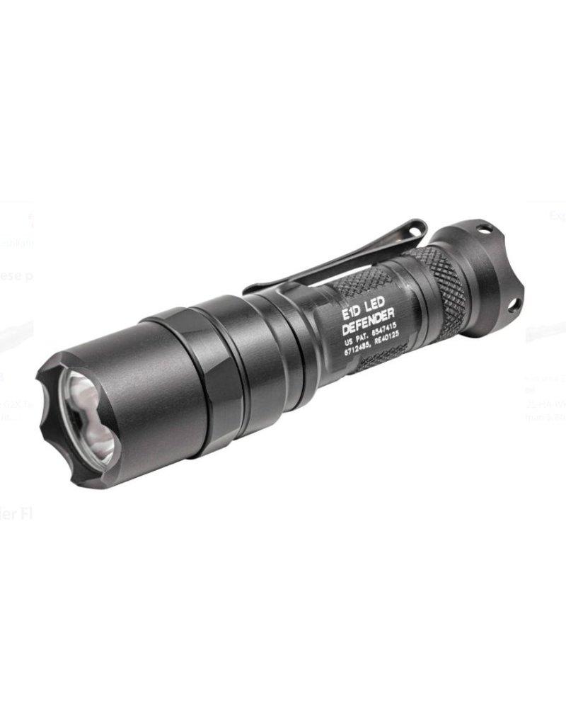 Flashlight Surefire E1D Defender, 300/5 lumens, Black anodized
