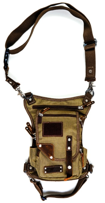 Purse Ukoalabag PJ bag, Coyote Brown Brown