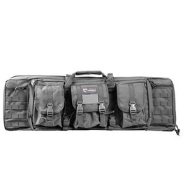 "Pack and Etc (Firearm) Drago Double Rifle Case, 36"", Grey"
