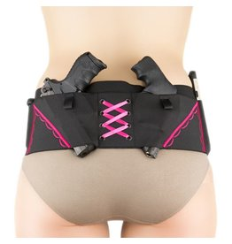 Nylon Can Can Concealment Classic Hip Hugger - XL - Hot Pink