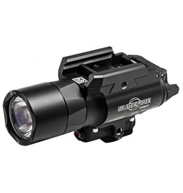 Flashlight Surefire X400 ULTRA, 600 LU, RED LASER, Black, Push/Toggle Switch