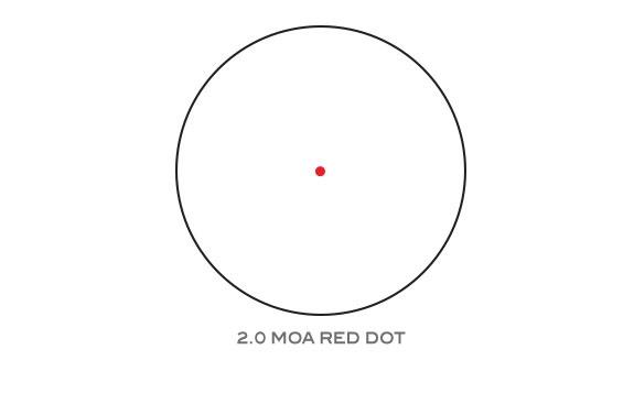 Optics Trijicon MRO Patrol - 2.0 MOA Adjustable Red Dot with Full Co-Witness Mount (AC32070)