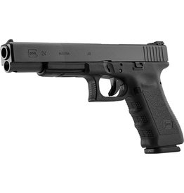 Handgun New Glock 24, .40S&W, Adj. Sights, 15 rd, 3 mags (special run)