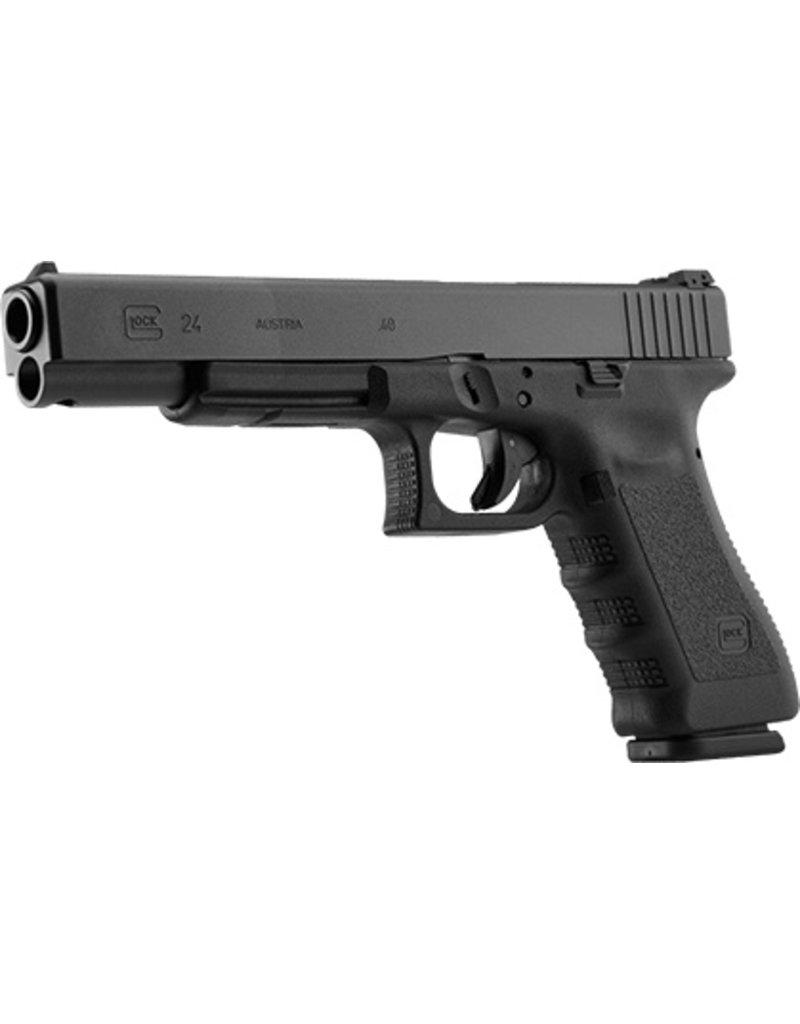 Handgun New Glock 24, .40S&W, Adj. Sights, 15 rd, 3 mags