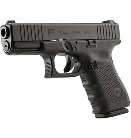 Handgun New Glock 19 Gen 4, 9 mm, 15 rd, 3 mags, Factory Front Serrations (special run)