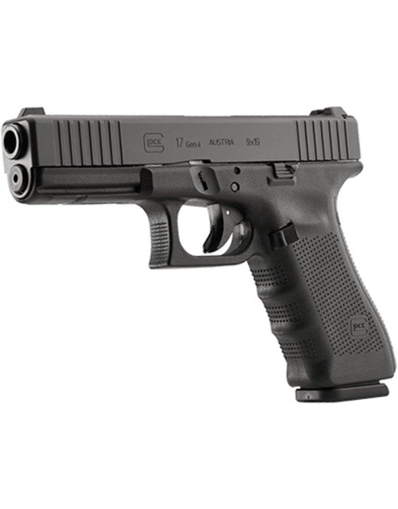 Handgun New Glock 17 Gen 4, 9 mm, 17 rd, 3 mags