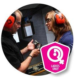 Basic 09/16/17 SAT - Ladies Basic Handgun Safety class, 9:30 to 1:30