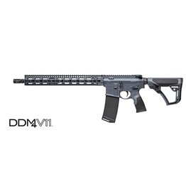 "Rifle New Daniel Defense DDM4 V11, 5.56, 16"", w/ SLiM Keymod Rail, Tornado Gray"