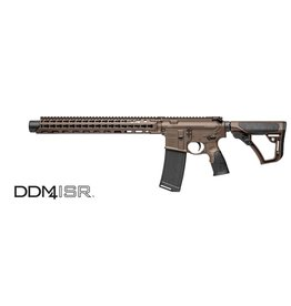 "Class 3 New Daniel Defense DDM4 ISR, 300BLK, 9"" Barrel w/ Permanent Silencer (16"" total), Brown, All NFA Rules apply"