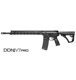 "Rifle New Daniel Defense DDM4 V7 Pro MLOK, 5.56, 18"", 32 round, Black"
