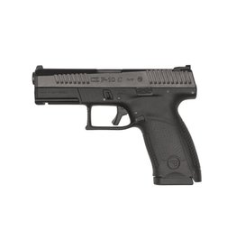 "Handgun New CZ P-10 C, 9mm, 4"", Black Nitride, 15 rd"