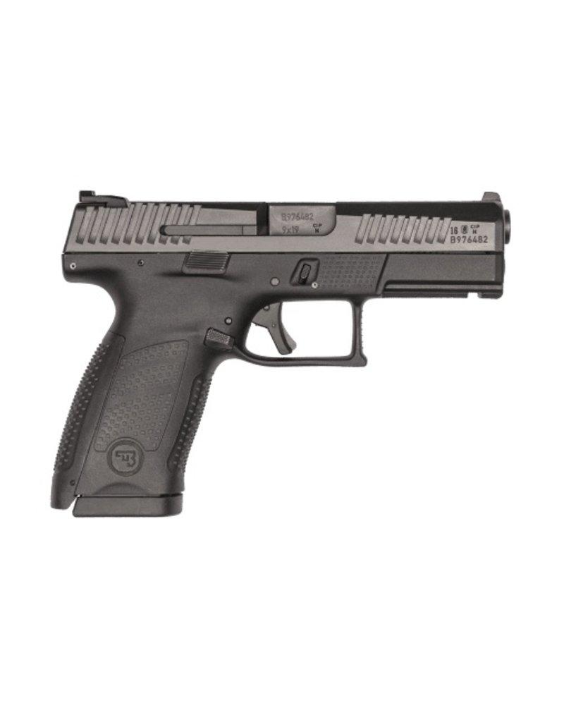 "Handgun New CZ P-10 C, 9mm, 4"", Black Nitride, 15 rd"