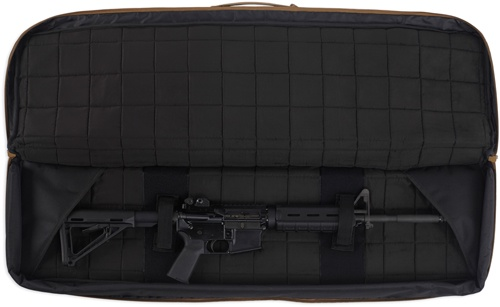 Pack and Etc (Firearm) Bulldog Double Tactical Rifle Bag, Black, 43""