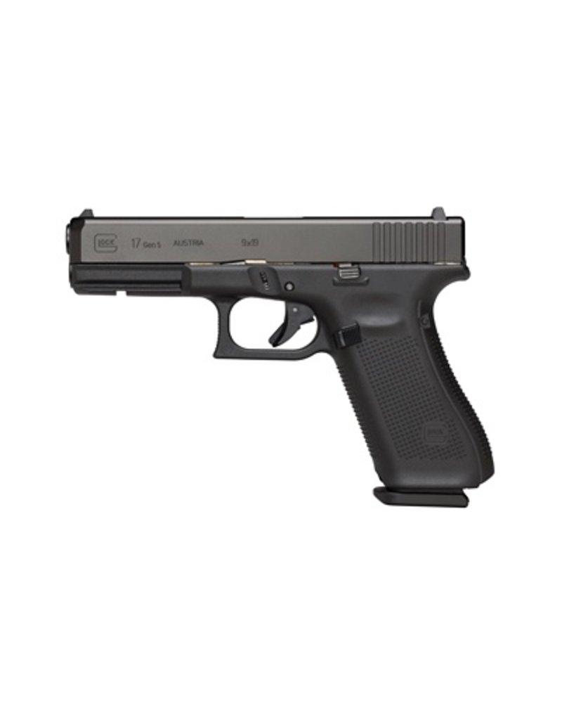 Handgun New Glock 17 Gen 5, 9 mm, 15 rd, 3 mags