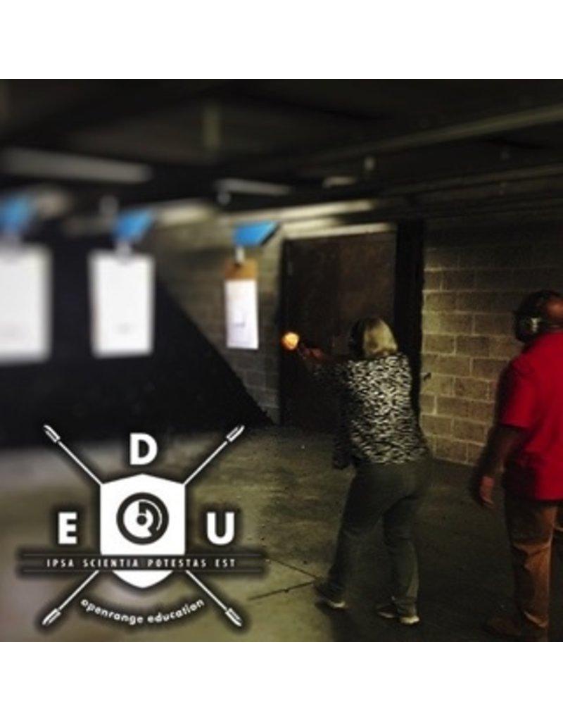 Basic 10/22/17 Sun. - Intermediate Handgun Class, 11:00 to 5:00