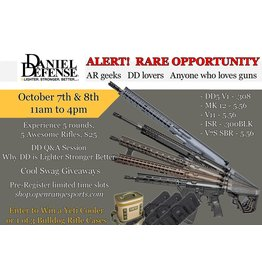 League / Fun 10/7 1pm - Daniel Defense Experience