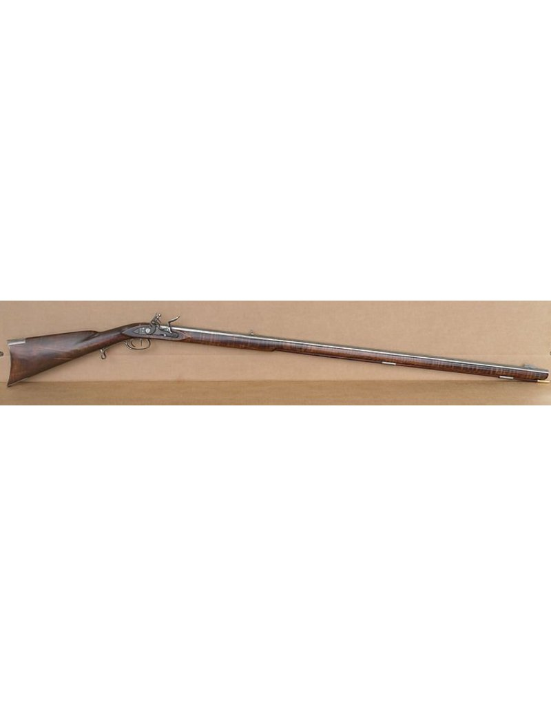 Long Gun New Custom Southern Poor Boy Long Rifle with Super Premium Maple and Silver Flintlock