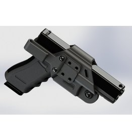 Plastic Cherries Deep Conceal IWB/BWB Holster, Fits: Glock 9/40, VP9, P2000, Shield, XDS, PPQ, P99, PPS, SD9VE