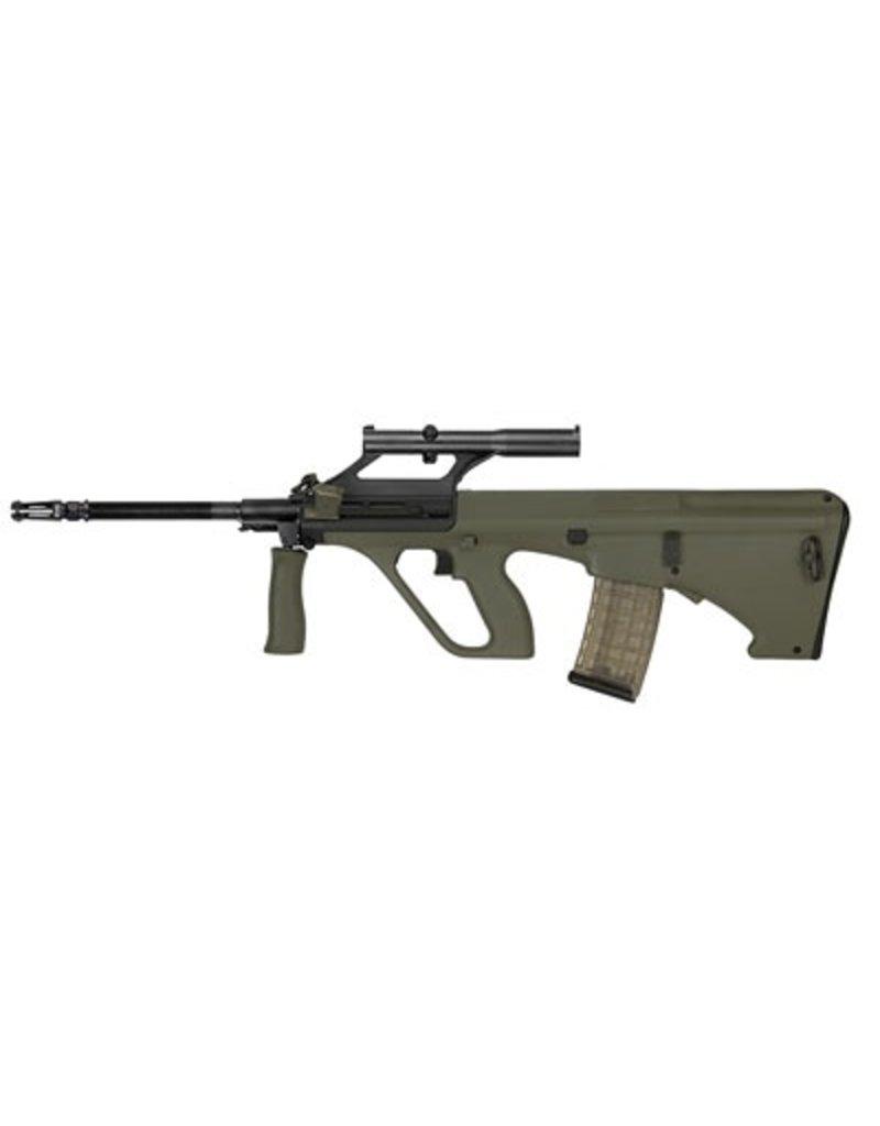"Rifle New Steyr Arms, STG77SA, 556, 20"", Green, 1.5X Optic, 30Rd, 40th Anniversary"