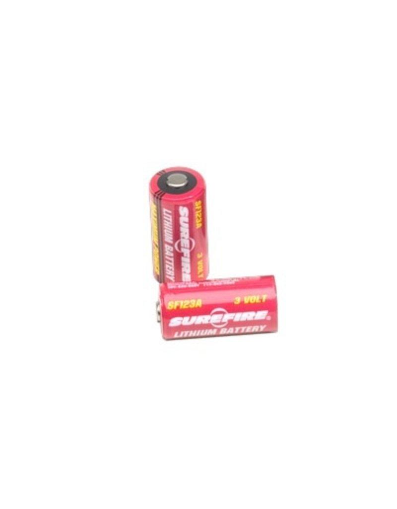 Flashlight Surefire 2 x SF123A Batteries