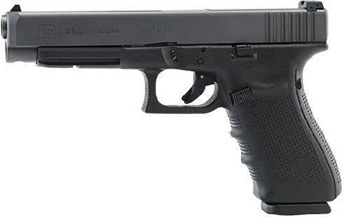 "Handgun New Glock 41 Gen 4, 45acp, adj sights, 13 rds, 5.3"", 3 mags"