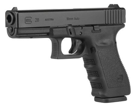 Handgun New Glock 20 gen 4, 10mm, 15 rounds