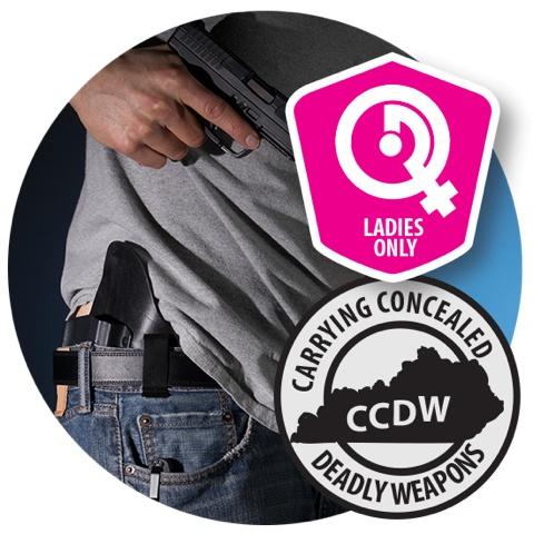 CCDW 6/16/18 Sat - LADIES KY CCDW Class - 9:30am - 4:30pm