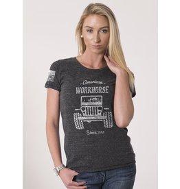 Shirt Short WORKHORSE WRTS HTHRDARKGREY L