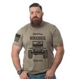 Shirt Short AMERICAN WORKHORSE TS MILITARYGREEN L