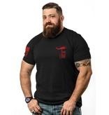 Shirt Short BASICRED TS BLACK 2XL