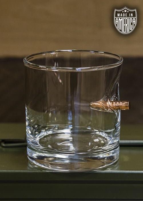 Shirt Short BULLET WHISKEY GLASS- .308 PROJECTILE