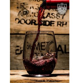 Shirt Short BenShot bullet Wine Glass - .308 projectile