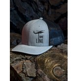 Shirt Short Drop Line RICHARDSON Snap Back Hat, Heather Grey