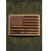 Shirt Short American Flag Patch - Multicam