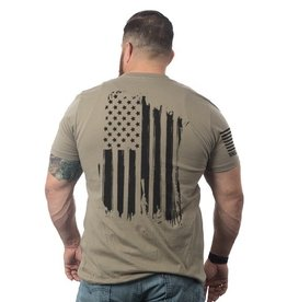 Shirt Short AMERICA Tee, Coyote, Large