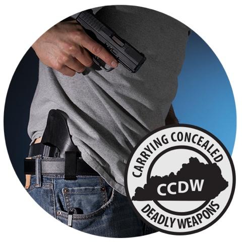 CCDW 7/30 & 7/31 Mon & Tues - KY CCDW class - 4:30 - 8:00