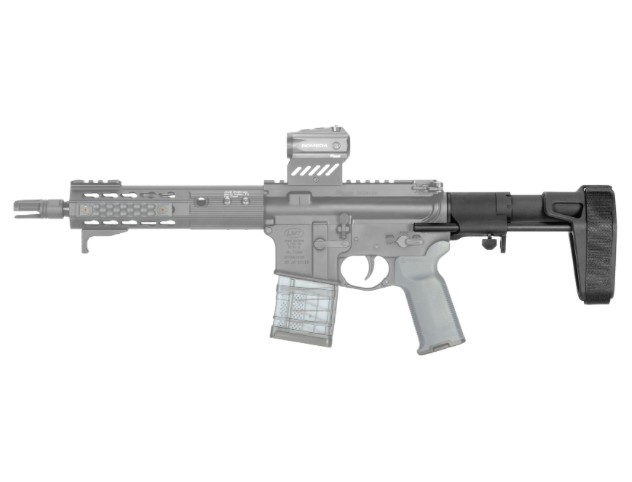 Special Order SB Tactical, SB PDW Stabilizing Brace, Black, Fits AR15, Uses Standard BCG and Buffer